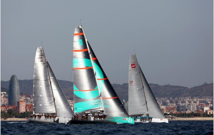 Today's light conditions in two offshore races were well-suited for the TP 52's - photo Max Ranchi/ORC