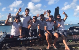 El 'Spanish Impulse' finaliza sexto en la Red Bull Youth America's Cup